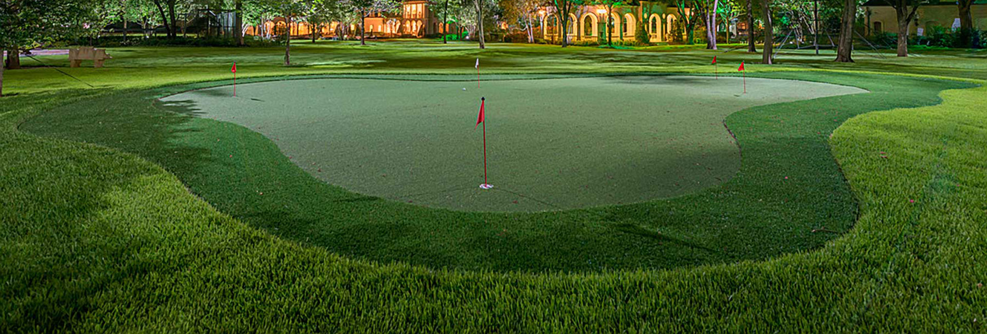artificial grass golf